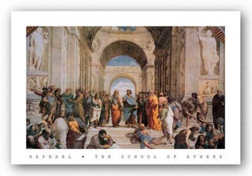 School Of Athens by Sanzio Raphael (Raffaello) 32