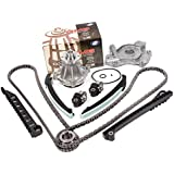 Evergreen TK6068WOP 04-08 Ford F150 F250 Lincoln Navigator TRITON 5.4 SOHC 3-Valve Timing Chain Kit Water Pump Oil Pump