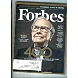 Forbes October 7, 2013 The Forbes 400 (The Definitive Ranking of the Richest People in America)