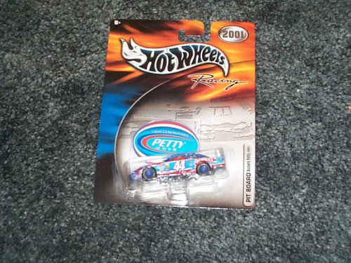 hot wheels 2001 racing Richard #44 four generations Pit Board RIchard Petty 50851 new unopened