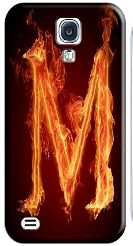 Phone Accessories Lovely 26 Fire Letter Character Cute Design Special For Samsung Galaxy S4 I9500 No.13