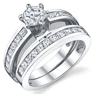 Wedding set rings uk