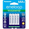8-Pack Panasonic BK-4MCCA8BA Battery