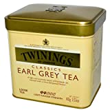 Twinings Classics Earl Grey Loose Tea Tin, 100 Gram