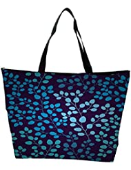 Snoogg Seamless Pattern With Leaf Waterproof Bag Made Of High Strength Nylon - B01I1KMGPM