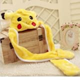 Bao Xin Stuffed Animal Hat with Scarf and Mitten ,3-In-1 Plush Cosplay Kit
