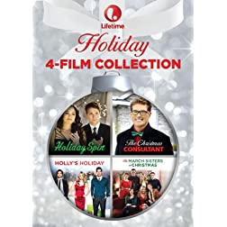 Lifetime Holiday 4-Film Collection [The Christmas Consultant/Holiday Spin/The March Sisters At Christmas/Holly's Holiday]