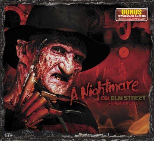 2014 A Nightmare On Elm Street Wall Calendar
