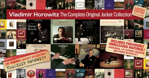 Vladimir Horowitz -Complete Original Jacket Collection