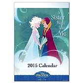 *2015年壁掛けカレンダー ディズニー/アナと雪の女王(FRONZEN) APJ-225 空前の大ヒット映画ディズニー「アナと雪の女王」カレンダー! アートプリントジャパン/APJ