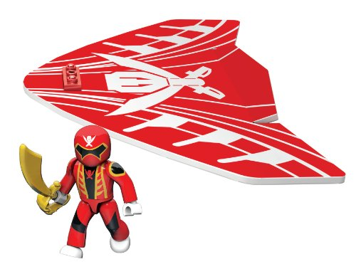 Mega Bloks Power Rangers Red Ranger Air Gliders