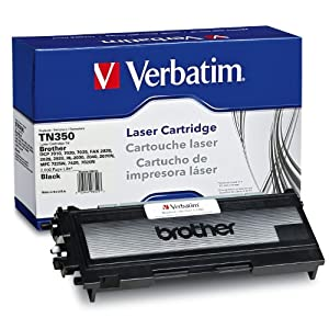 Verbatim TN350 Remanufactured for BROTHER Toner Cartridge for DCP7010/20/25, FAX 2820/25/2920/HL-2030/2040/2070N/MFC 7225N/7420/7820N,  98329