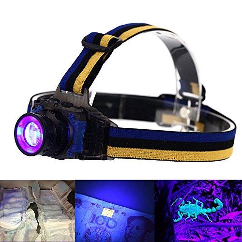 led-stirnlampe-uvevary-wiederaufladbare-zoomable-ultraviolett-led-lila-hell-3-modi-fur-spot-scorpion