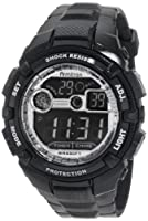 Armitron Men's 40/8240BLK Black Resin Chronograph Watch by Armitron