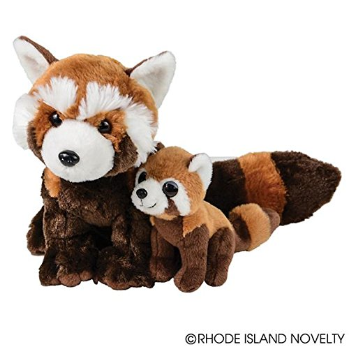 Red Panda with Baby Plush Stuffed Animal