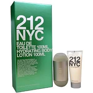 Carolina Herrera Women Gift Set (Eau De Toilette Spray, Body Lotion)