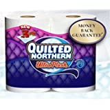 Quilted Northern Ultra Plush Toilet Paper 3 PLY Jumbo Rolls 30 Ct