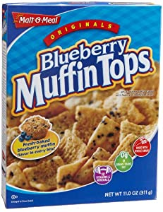 Malt-O-Meal Blueberry Muffin Tops, 11-Ounce Boxes (Pack of 12)