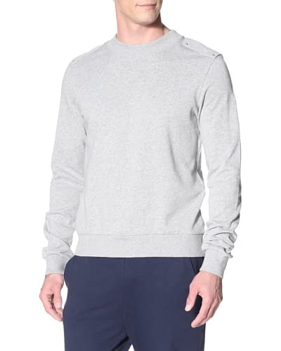 adidas SLVR Men's French Terry Crew Sweatshirt