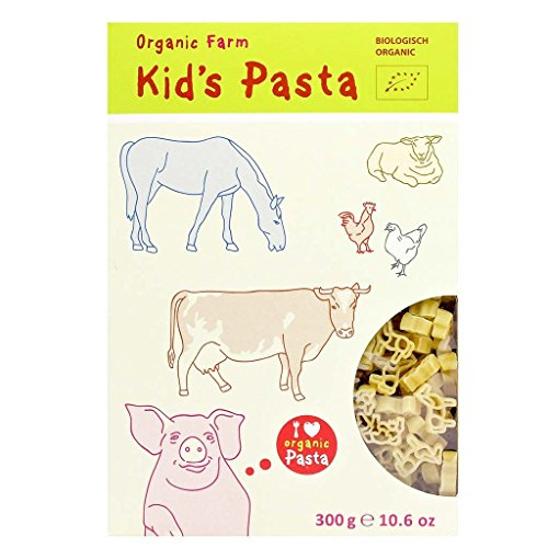Kid's Pasta Organic Farm Animals Shape 300g (3-pack) (Organic Pasta For Kids compare prices)
