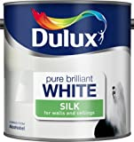 Dulux Silk Pure Brilliant White 2.5L