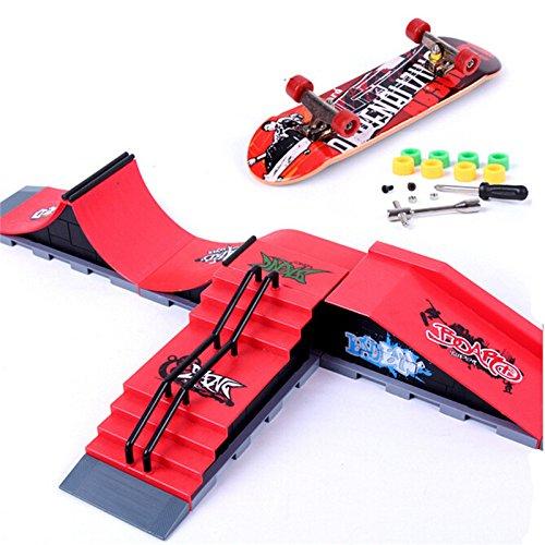DIY Finger Skateboard Site Skate Park Ramp Parts Finger Board Site Ultimate Sports Random Type (Aroma Ramp compare prices)