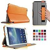 Fintie Folio Hardback Leather Case With Built-in Stand Auto Wake/Sleep For Samsung Galaxy Tab 3 8.0 Inch Tablet... - B00DUROSL2