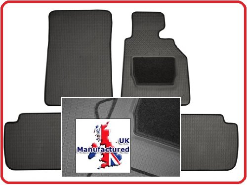 VAUXHALL VXR8 V8 (07-09) FULLY TAILORED RUBBER MATS