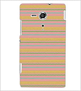 PRINTSWAG PATTERN Designer Back Cover Case for SONY XPERIA SP
