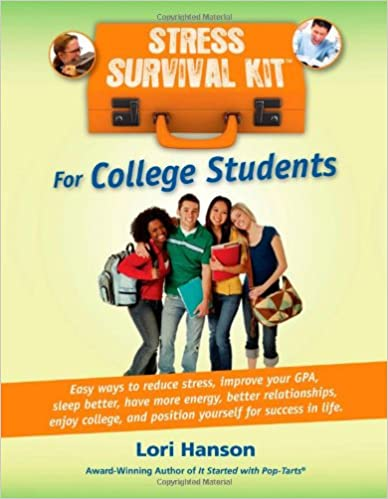 Stress Survival Kit for College Students Book Cover