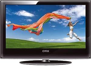 CMX LED 8156 - Televisor de alta definición (retroiluminación LED, 39,6 cm (15,6 pulgadas), formato 16:9, sintonizador DVB-T integrado), color negro