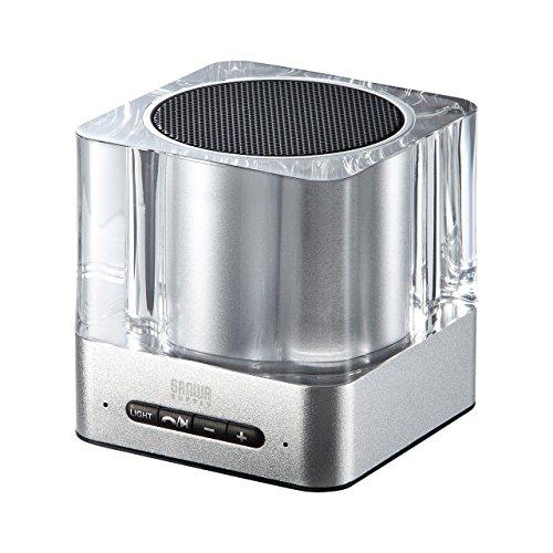 サンワサプライ Bluetoothワイヤレススピーカー(シルバー) MM-SPBT2SV