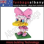 Daisy Duck Loz Diamond Nano Micro Blocks Mini Building Block Big Head Toys /Item# G4 W8 B 48 Q39682