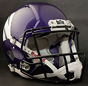 NORTHWESTERN WILDCATS NCAA Riddell Revolution SPEED Football Helmet by ON-FIELD