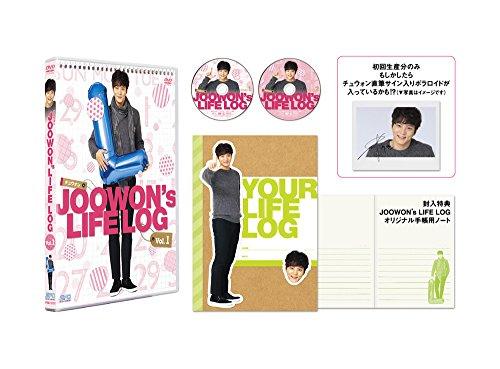 JOOWON(チュウォン)'s LIFE LOGDVD vol.1[DVD]