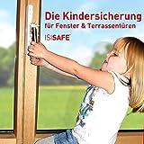ISI SAFE - la protezione per bambini che si applica alle finestre senza dover forare l'infisso!