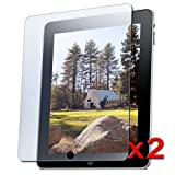 2x Anti-Glare LCD Cover Screen Protector For iPad WiFi
