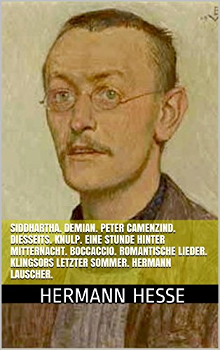 an analysis hermann hesse on writing his novel demian Demian: a novel ebook: hermann hesse: amazoncouk: kindle store  a  brilliant journey of the psyche written by one of germany's most influential writers   hesse inverts the meaning of several bible stories as he turns morality on its  head.