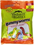 YumEarth Organic Gummy Worms, 2.5 Ounce (Pack of 12)