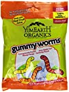 YumEarth Organic Gummy Worms, 2.5 Oun…