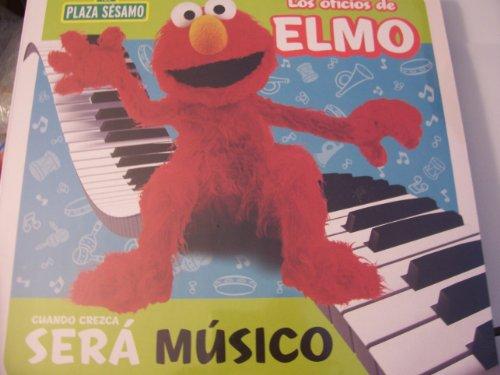 Plaza Sesamo Los Oficios de Elmo Libro del Rompecabezas ~ Músico (Puzzle Book) - 1