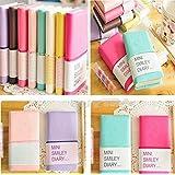 Zjskin Diary Notebook Memo Cute Mini Smile Smiley Paper Note Book