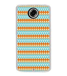Colourful Pattern 2D Hard Polycarbonate Designer Back Case Cover for Motorola Nexus 6 :: Motorola Nexus X :: Motorola Moto X Pro :: Motorola Google Nexus 6
