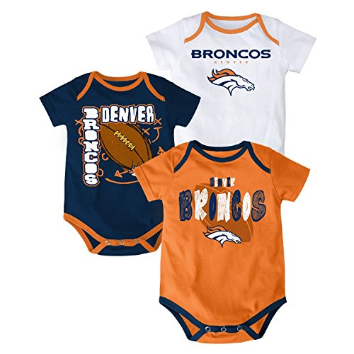 huge selection of 44356 5f292 Broncos baby onesie / Valentain day