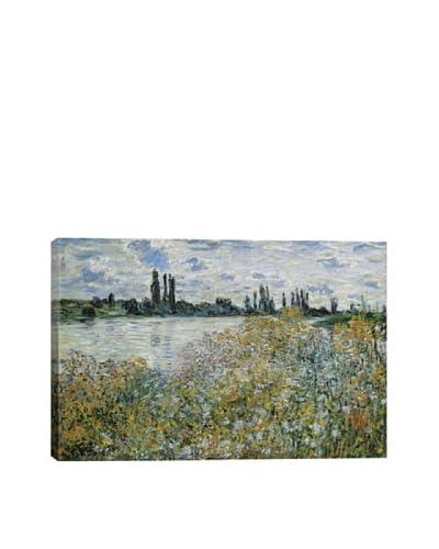 Claude Monet's Ile Aux Fleurs Near Vetheuil (1880) Giclée Canvas Print
