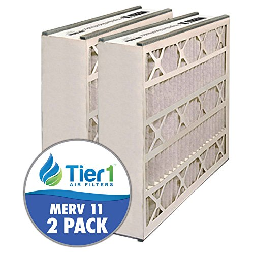 Air Bear AB-51625-11 16x25x5 Merv 11 Replacement AC Furnace Air Filter (2 Pack) (Tier 1 Furnace Filter compare prices)