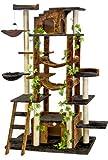 Go Pet Club 77-Inch Cat Tree, Brown/Black thumbnail