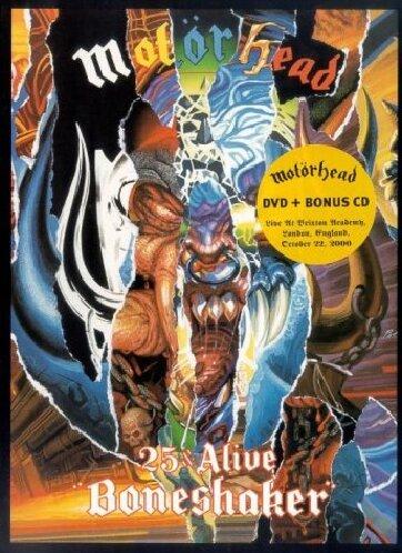 MOTORHEAD - 25 & Alive Boneshaker - Zortam Music