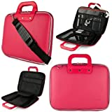 SumacLife Cady Microsoft Surface Book Pro 4 & 3 12-inch Laptop and Tablet Briefcase Bag (Pink)
