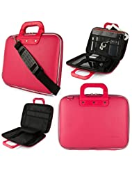 SumacLife Universal 14 To 15.6-inch Laptop Pink Cady Collection Briefcase